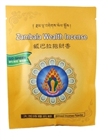 Organic Blessed Yellow Dzambala Prosperity Incense