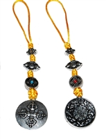 Srid Pa Ho Double Dorje Amulet Two Finishes to Chose From