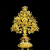 24 Carat Gold Plated All In One Eight Auspicious Symbols Extra Large