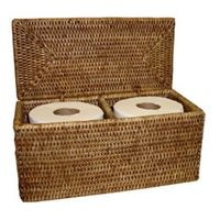 "Double Toilet Paper Holder - AB 12x5.75x5.75""H .."