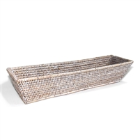"Rectangular Bread Tray - WW 17x5x3.5""H.."