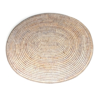 "Oval Placemat - WW 17.25x15"" .."