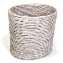 "Oval Waste Basket - WW 11x8x11""H.."