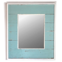 "Mirror RW Light Blue 22.5x26.5"" (Mirror 12.5x16.5"").."