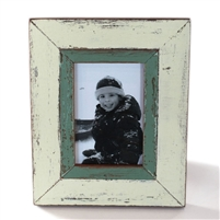 "Frame RW Pale Green 7x9"" (3x5) (Stand).."