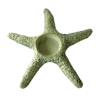 Starfish Votive Ceramic Small - Moss Green..