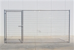 Cactus Dog Kennel Gate Panel 12'W x 6'H
