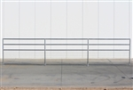 1-5/8 Horse Corral Foaling Panel 4 Rail With Welded Wire:  24'W x 5'H