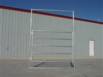 Horse Round Pen 5-Rail Gate Panel