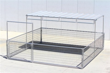 complete mini pen Trussed Shelter