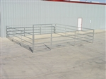 4-Rail Complete Horse Corral
