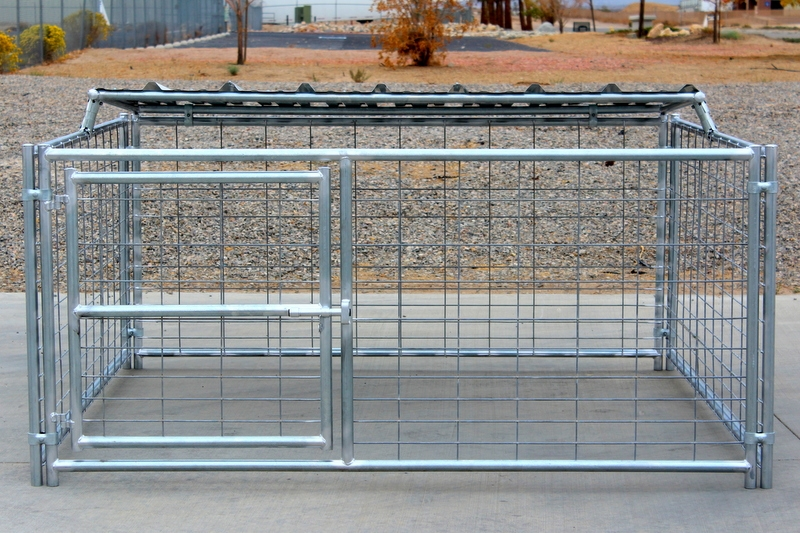 Livestock Pens 8 X8 Hog Pen With Roof Shelter Cactus