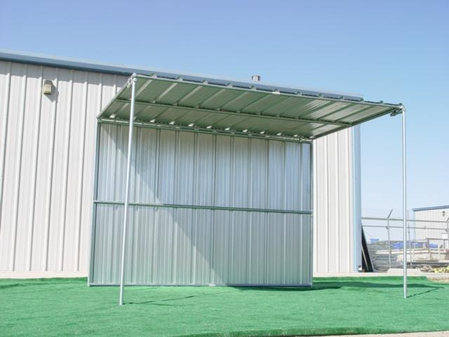Covered Horse Shelters : Horse shelters shelter covered with rear
