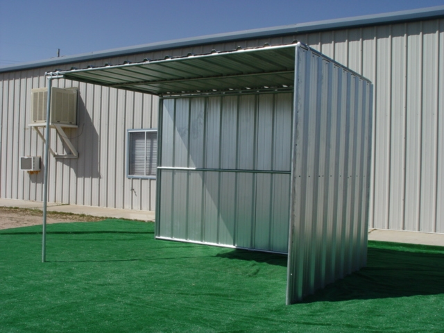 Covered Horse Shelters : Horse shelters shelter sided covered