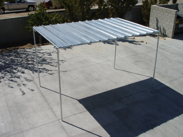 Horse Shelters 8 X 12 Horse Shelter Roof With Legs