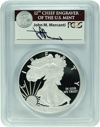 2012-S PCGS PR69DCAM Silver Eagle 75th Anniversary SF Mint Set Not First Strike