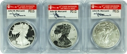 2012-S (3 set of coins) PCGS PR70DCAM/PR70/MS70 Silver Eagle 75th Ann.