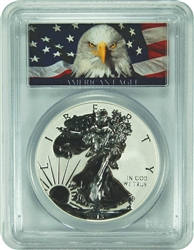 2013-W PCGS PR70 Reverse Proof West Point Mint Set First Strike Silver Eagle Dollar Bald Eagle Label