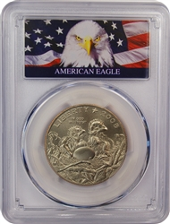 2008-S PCGS MS69 Bald Eagle Half Dollar (Bald Eagle Label)