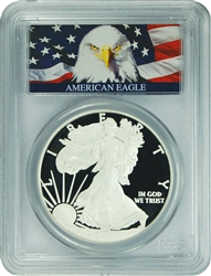 2011-W PCGS PR70DCAM Silver Eagle Dollar (Bald Eagle Label)