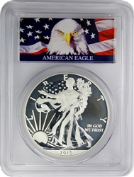 2013-W PCGS MS70 Enhanced Mint State West Point Mint Set First Strike $1 Silver Eagle with Bald Eagle Label
