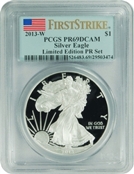 2013-S PCGS PR69DCAM Silver Eagle FIRST STRIKE LIMITED EDITION
