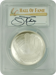 2014-P PCGS MS70 Baseball Hall Of Fame Autographed Jim Palmer