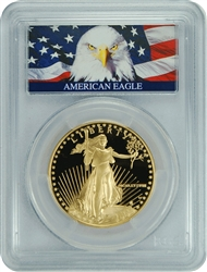 1988-W PCGS PR70DCAM Gold Eagle $50 (Bald Eagle Label)