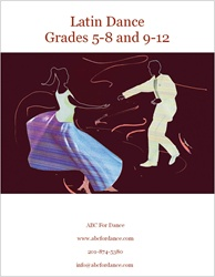 latin dance manual cover for grades 5 -12