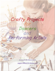 Craft Projects for dancers cover