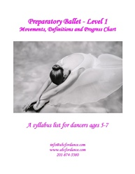 Pre Ballet Level 1 Syllabus Cover