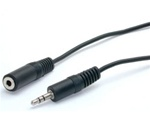 3.5mm Male to 3.mm Female Stereo Extension Cable 6'