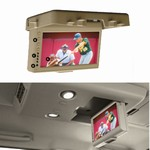 "Myron & Davis 8.5"" Flip Down Screen For Nissan Vehicles"