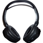 Dual Channel IR Wireless Headphones