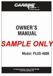 Carbine Owners Manual