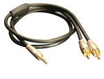 "3.5mm (1/8"") to RCA Audio Cable"