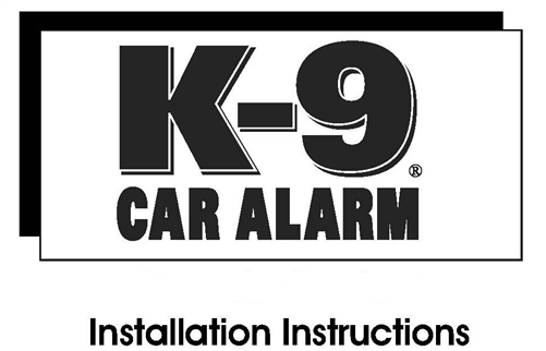 K9 owners and installation guides k 9 alarm installation manual swarovskicordoba Images