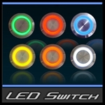 Halo Flush Mount LED Switch