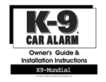 K-9 Alarm Installation Manual