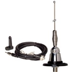 AM / FM RV Antenna - Stainless Steel Mast With Swivel Base