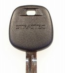 High Security Toyota Transponder Ignition Key