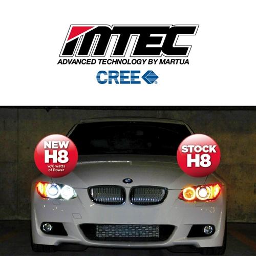 Mtec H8 6w Bmw Angel Eyes Led Bulb