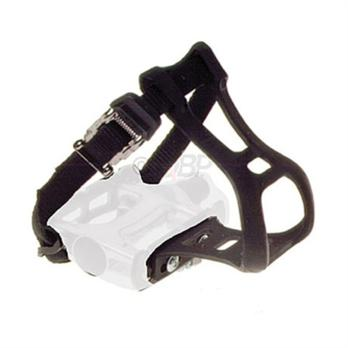 Dimension Black Toe Clip and Strap Set