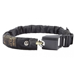 Hiplok Gold Chain Lock: All Black