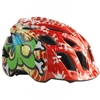 Kali Chakra Child Spiral Helmet Red/Green
