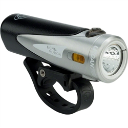 Light and Motion Urban 700 Rechargeable Headlight: Tundra, Steel and Black