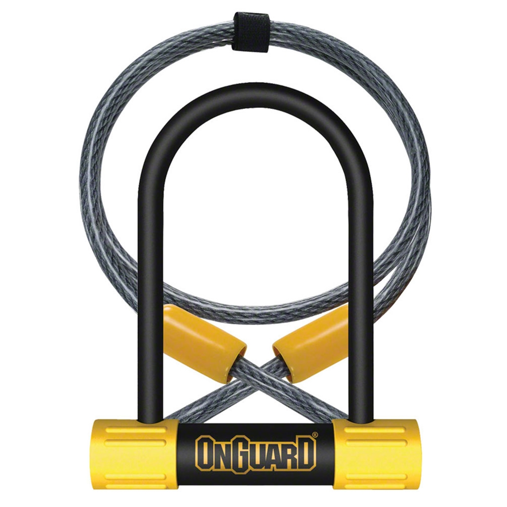 onguard bulldog mini dt u lock with cable from. Black Bedroom Furniture Sets. Home Design Ideas