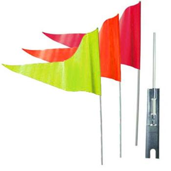 Safety Rocket Safety Flag Orange