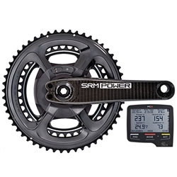 SRM Origin Powermeter Shimano 9100 Chainrings + PC8