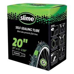 "Slime Self-Sealing Tube 24"" x 1.5-2.125"" Schrader Valve"